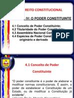 Unidade IV - Poder Constituinte