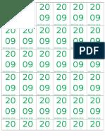 Tiket 2009