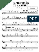 DE PROFESIÓN TU AMANTE - Eddie Santiago - 1° Trombón