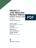 Product & Process Design Principles