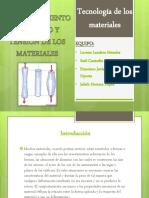 Comportamiento Mecánico y Tensión de Los Materiales