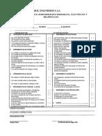 Lista de Chequeo Herramientas Manuales