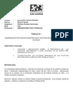 Trabajo Comparativo Politicas Sociales en Chile_2_2015