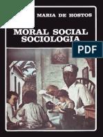 Hostos Moral Sociologica