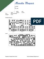 Rangkaian Tone Control Mono IC 4558