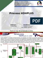 proceso HDH PLUS HIDROCARBUROS