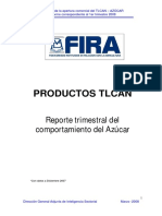 Productos TLCAN AZÚCAR 1er Trimestre 2008
