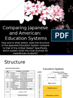 comparing japanese and american