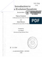 Cazenave & Haraux - An Introduction to Semilinear Evolution