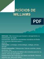 Exercícios de Williams