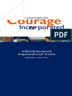 Courage Inc Org Profile_ 2016