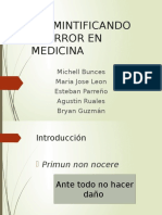Mbe - Error Medico