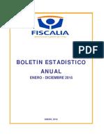 Boletin Anual Enero Diciembre 2015