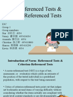 8. Norm- Referenced Tests & Criterion-Referenced Tests.ppt