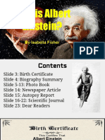 who is albert einstein-  1