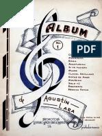 Agustin lara voz y piano