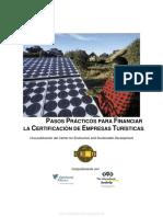 Manual 2- Pasos Prácticos Para Financiar La Certificación de Empresas Turísticas