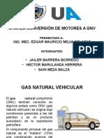 Conversion de Un Motor a GNV