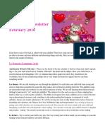 division 18 feb 2016 newsletter