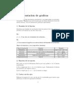 Formulario Representacion funciones