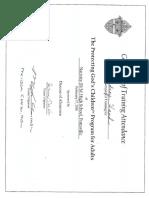 protecting gods children certificate