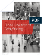 The Evolution of Wayfinding