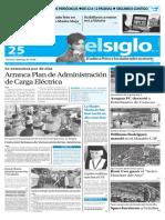 Edicion Impresa El Siglo 25-04-2016