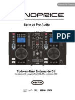 Monoprice All in one DJ