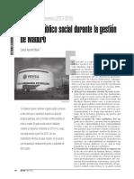 Gasto Público Social 2013 2015 (Revista SIC)
