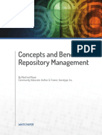 Concepts and Benefits of Repo Management