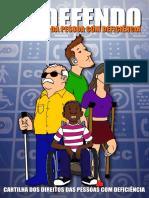 Cartilha - EU DEFENDO os direitos da pessoa com deficiência
