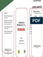 Leaflet Rokok