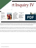 inquiry newsletter 4