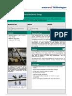 MeasurIT Flexim FLUXUS BTU Application District Energy 0906
