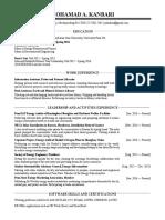 Resume MAKanbari 2016