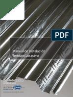 Ternium Losacero 25 Manual de Instalacion