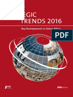 Center for Security Studies - Strategic Trends 2016 ~ Key Developments in Global Affairs