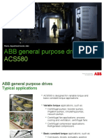 ACS580 Product Presentation RevJ