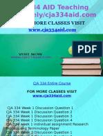 CJA 334 AID Teaching Effectively/Cja334aid.com