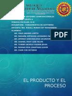 El Producto y EL Proceso