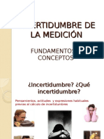 Fundamentos de Incertidumbre