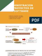 Administracion de Proyectos de Software 4P