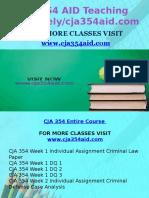 CJA 354 AID Teaching Effectively/Cja354aid.com
