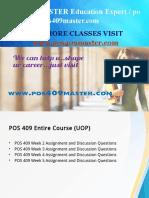 POS 409 MASTER Education Expert / pos409master.com