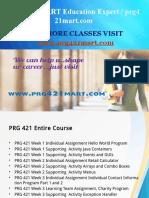 PRG 421 MART Education Expert / prg421mart.com