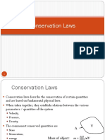 Chapter 3 Conservation Laws