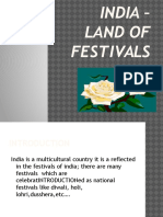 India – Land of Festivals