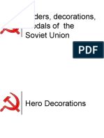 Orders, Decorations, Medals of the Soviet Union