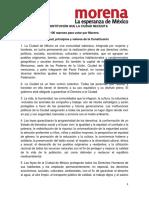 100 Razones para Votar por Morena para el Constituyente