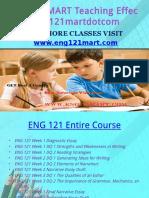 ENG 121 MART Teaching Effectively Eng121martdotcom